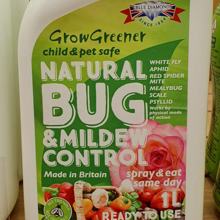 Natural Bug & Mildew Control