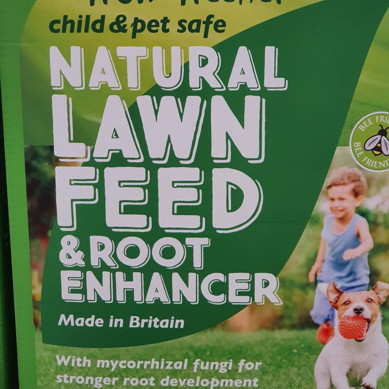 Natural Lawn Feed & Root Enhancer