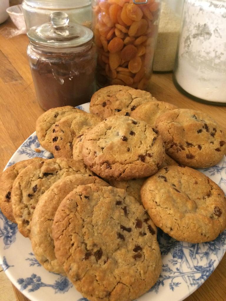 Alton's Oat & Raisin Cookies