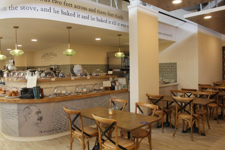 Kipling Pâtisserie & Prose at  Weybridge Garden Centre