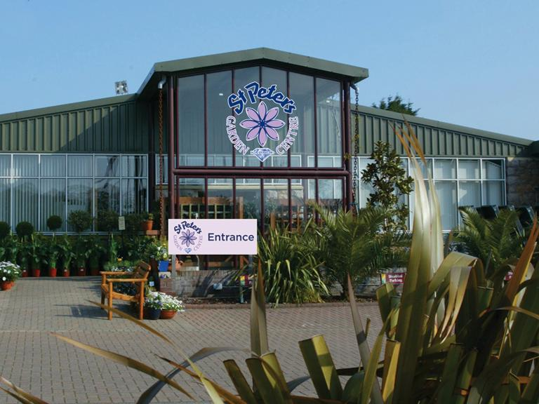 st peters garden centre opening times