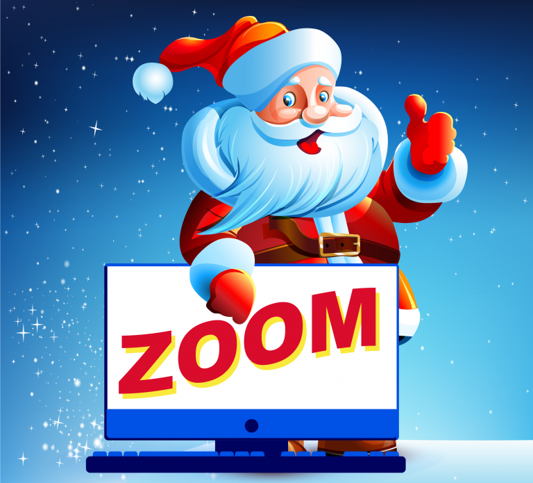 Santa by Zoom - New for 2020
