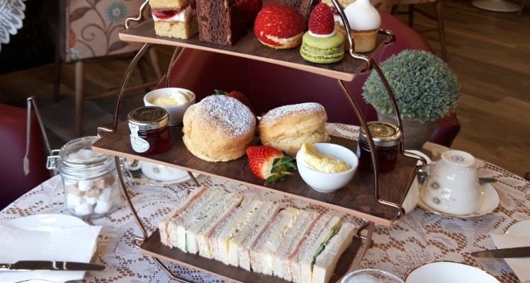 Afternoon Tea at Endsleigh