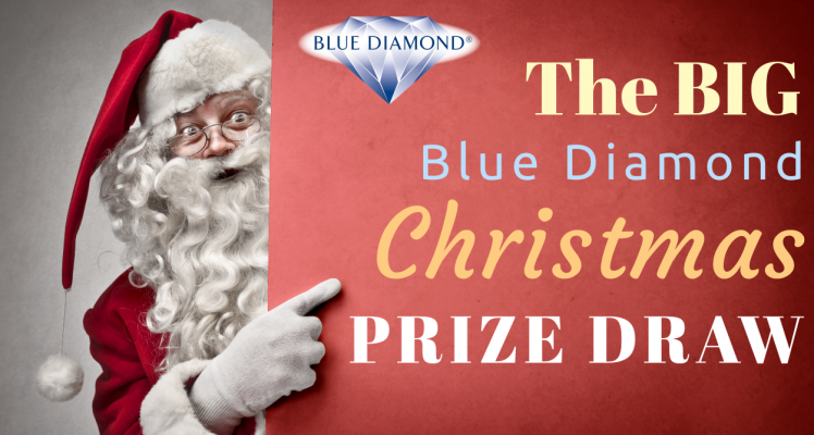 The Big Blue Diamond Christmas Prize Draw