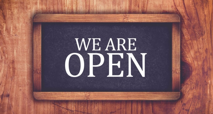 We are staying open!