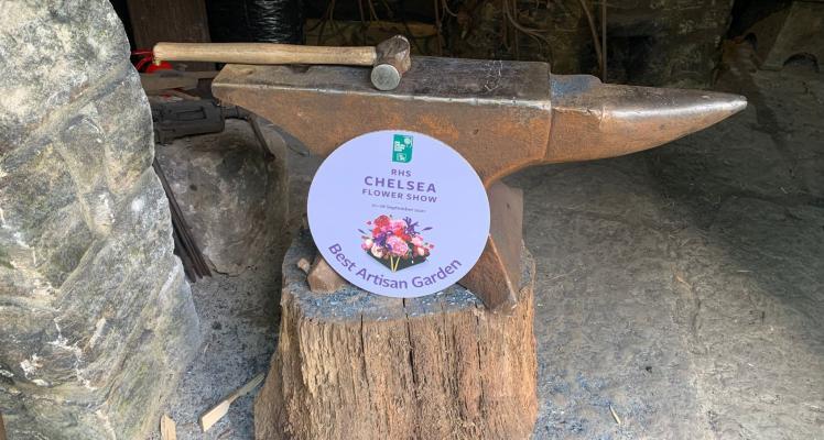 Best Artisan Garden Award at RHS Chelsea Flower Show 2021