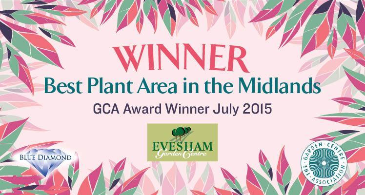 Evesham Garden Centre Triumph with Multiple GCA Awards