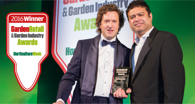 And the Award Goes To…  Redfields Garden Centre!