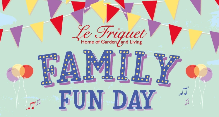 Family Fun at Le Friquet Garden Centre!