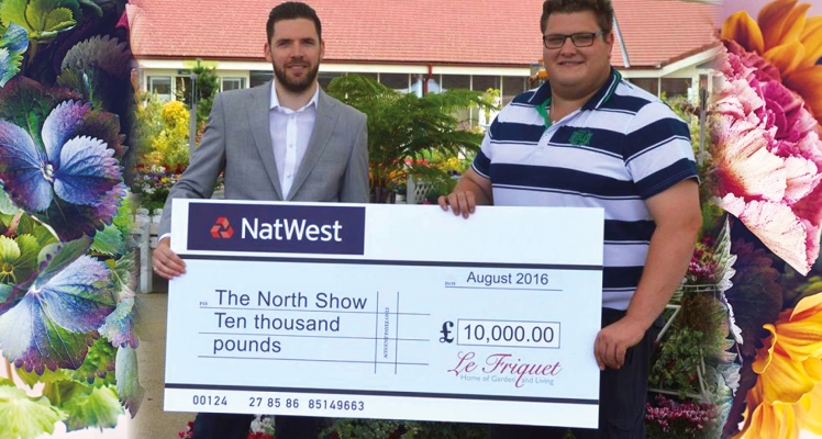 Le Friquet Donate £10,000 to Guernsey's North Show