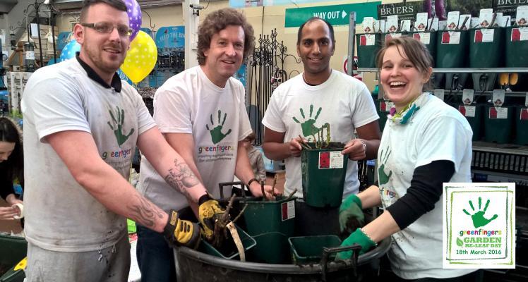 Fryer's Garden Centre Goes Potty for Greenfingers!