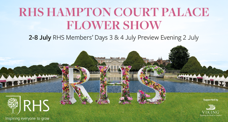Fryer's Roses to Launch Two New Roses  at RHS Hampton Court 2018