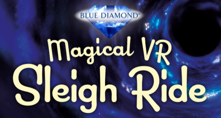 Virtual Reality Sleigh Ride at Blue Diamond