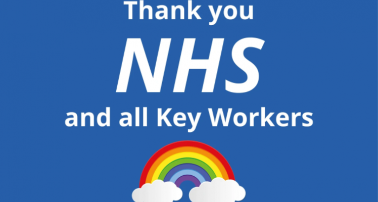 Thank you to our NHS and Key Workers