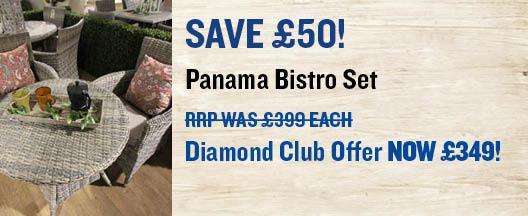 Panama Bistro Set