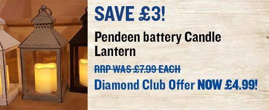 Pendeen Candle lantern
