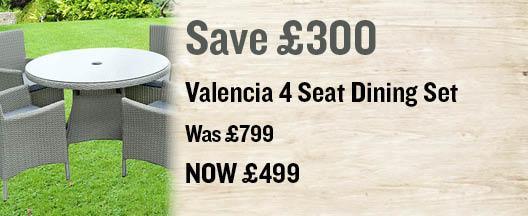 Valencia 4 seat set