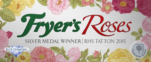 Fryer's Win Silver at Tatton Park Rose Show